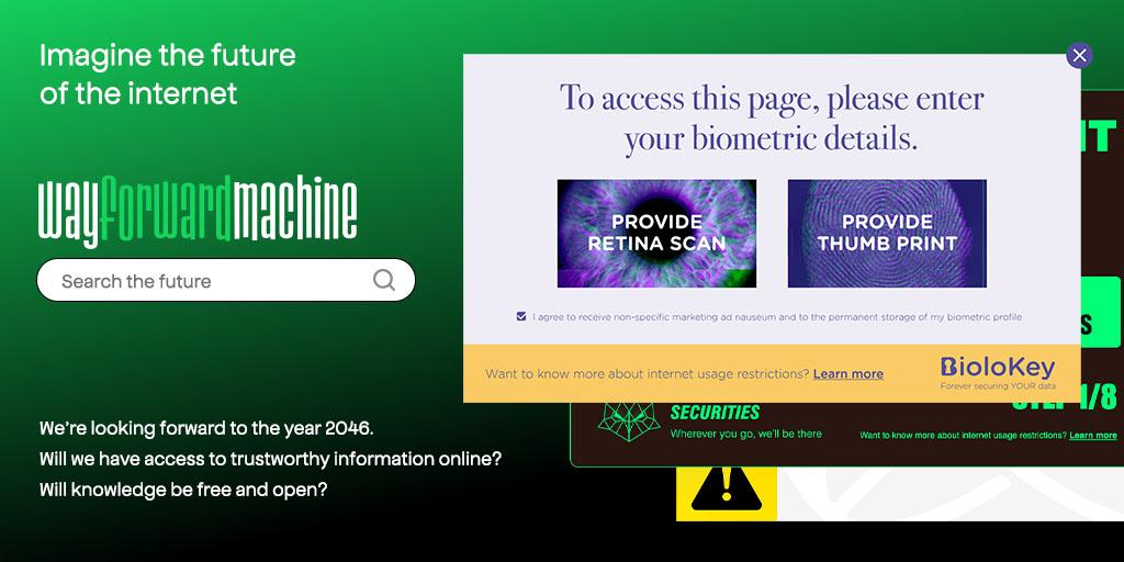 Wayforward Machine • Visit the future of the internet